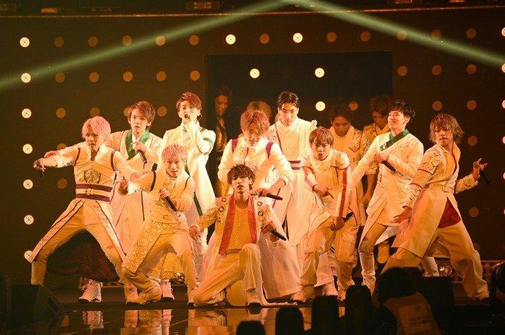 KYOTO SAMURAI BOYS「東京ガールズコレクション」でスペシャルメドレーを披露