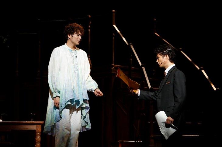 田代万里生&平方元基の二人芝居ミュージカル『ストーリー・オブ・マイ・ライフ』大阪公演を終え、東京へ