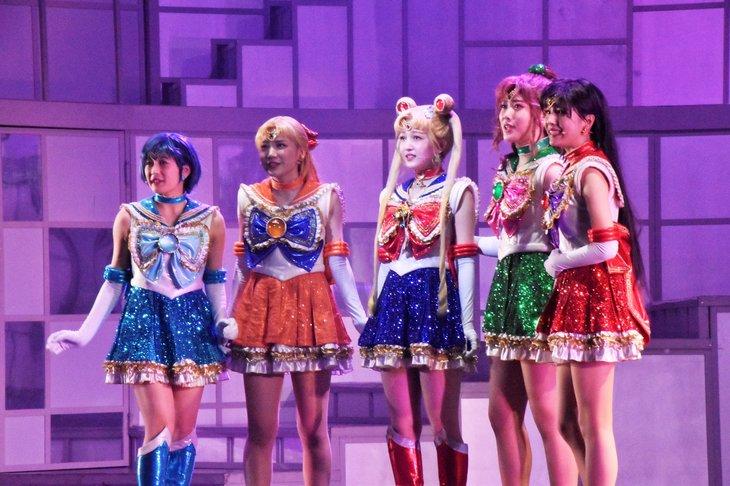 新生・乃木坂46版ミュージカル『美少女戦士セーラームーン』セーラー戦士と現役アイドルの重なる姿
