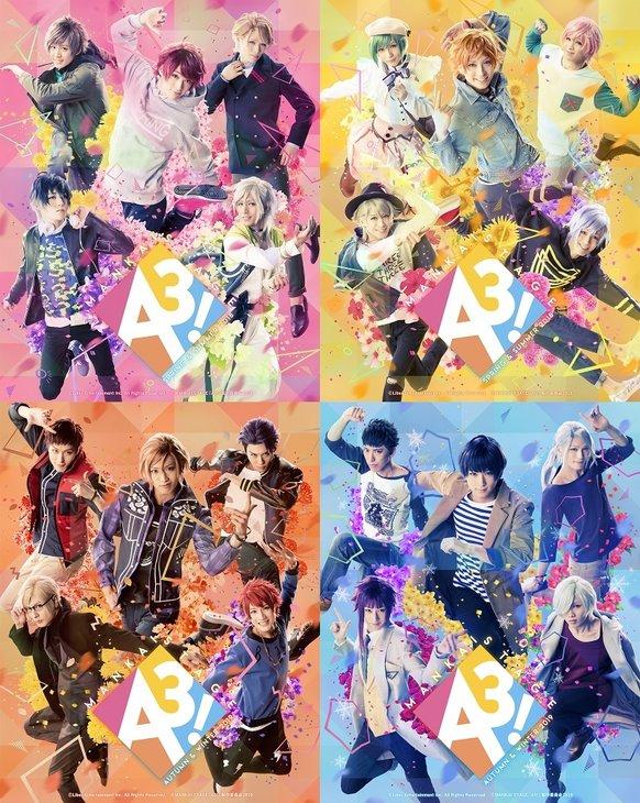 文字で楽しむエーステ!MANKAI STAGE『A3!』初の戯曲本を2冊同時発売