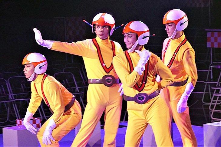 LIVEミュージカル演劇『チャージマン研!』古谷大和「劇場で見てなんぼ!」