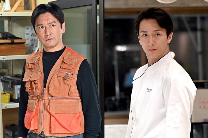 『グランメゾン東京』に石丸幹二&大貫勇輔が出演!伝説の猟師と秘密を抱えるシェフに
