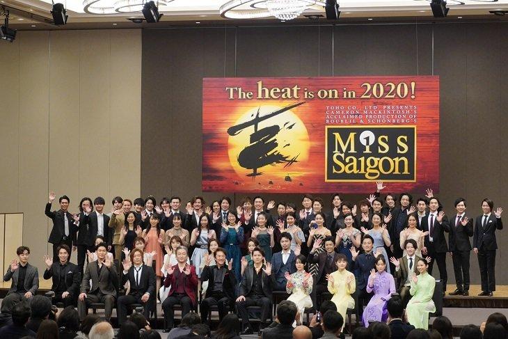 ミュージカル『ミス・サイゴン』製作発表レポート!市村正親「120歳まで演じ続けたい」