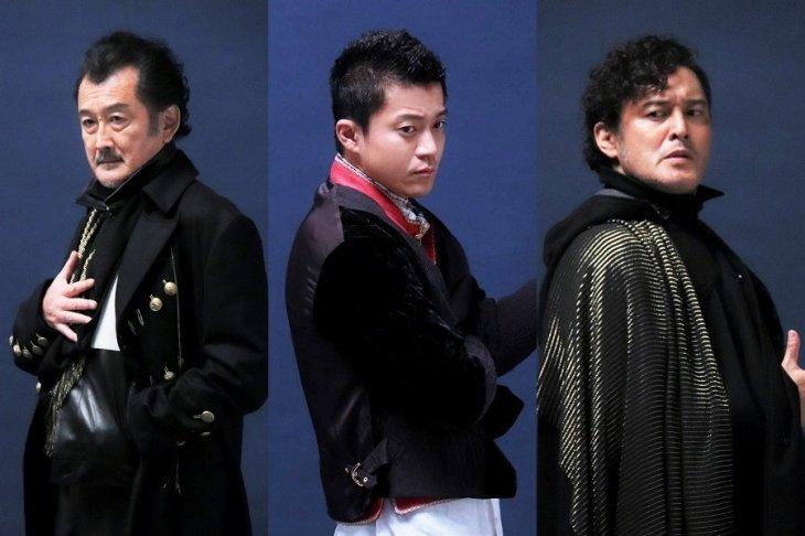 小栗旬、シリーズ14年ぶりの出演!横田栄司、吉田鋼太郎と名優相打つ『ジョン王』ビジュアルレポート