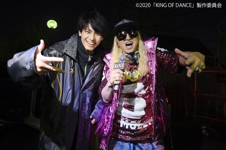 ドラマ『KING OF DANCE』大会MC役にDJ KOOが出演!全6種類の壁紙画像配布もスタート