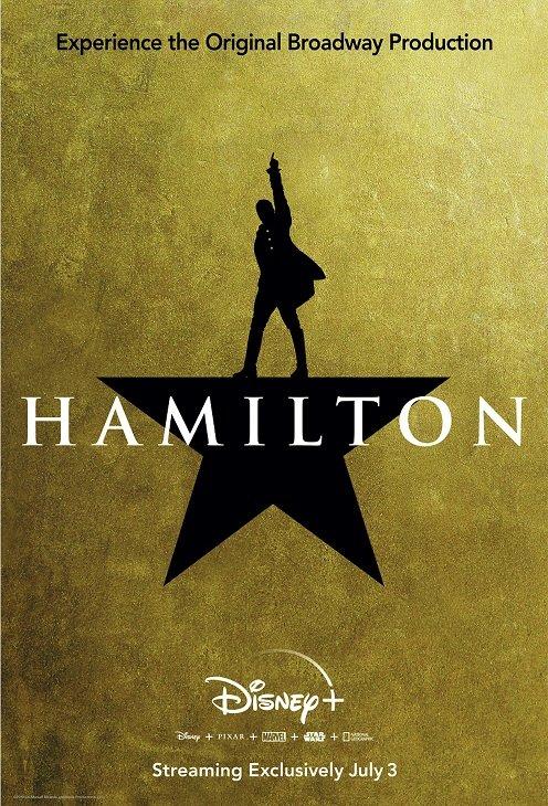 『ハミルトン』をディズニープラスが7月3日より世界同時配信