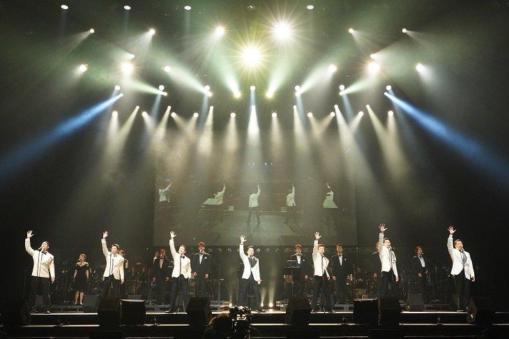 『ジャージー・ボーイズ イン コンサート』ついに開幕!ゲネプロ舞台写真&中川晃教らキャスト陣コメント到着