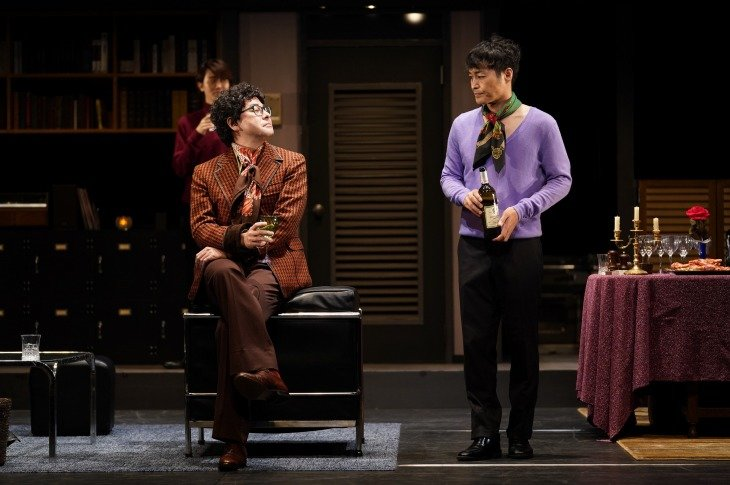 LGBTの人々を真正面から描いた『ボーイズ・イン・ザ・バンド』開幕 白井晃、安田顕らと「今の日本にも通じる問題を意識」