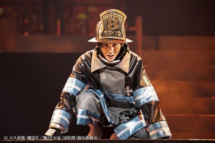 牧島輝「誰もが忘れられないほど熱く!」舞台『炎炎ノ消防隊』神奈川公演スタート