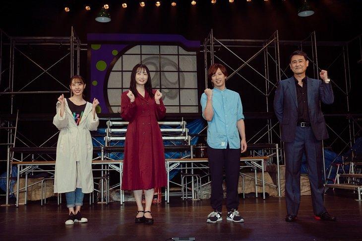 江田剛主演『知恵と希望と極悪キノコ』開幕!「こんな時期だからこそ俺たちにできる事は何か」