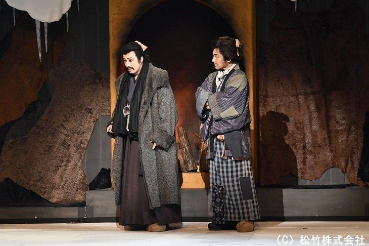 『三谷かぶき 月光露針路日本 風雲児たち』舞台写真