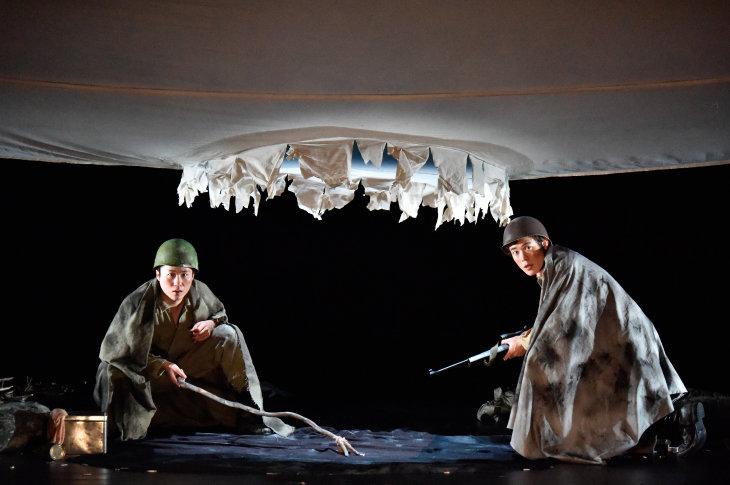 宮沢氷魚×大鶴佐助『ボクの穴、彼の穴。』開幕!「やっぱり稽古が、演劇が好き」