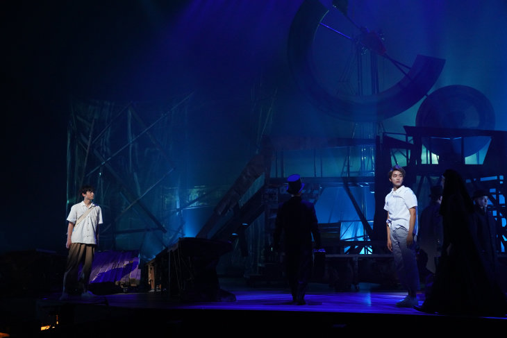 音楽劇『銀河鉄道の夜 2020』舞台写真
