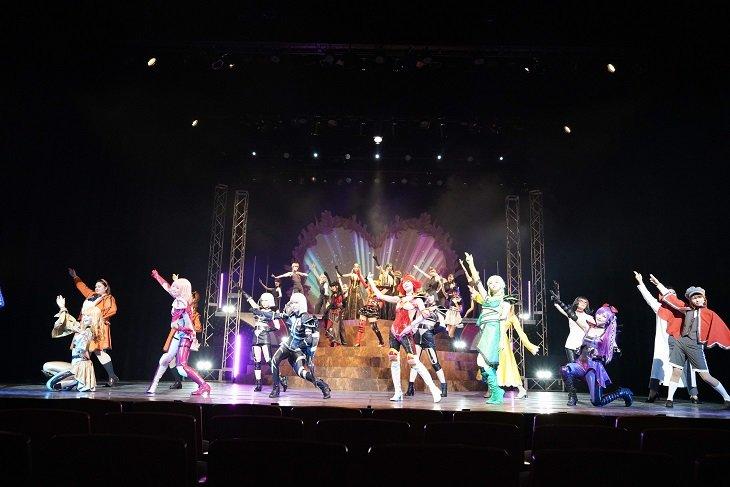 舞台『キューティーハニー The Live〜秋の文化祭〜』開幕!上西恵「キャスト全員気合い十分」