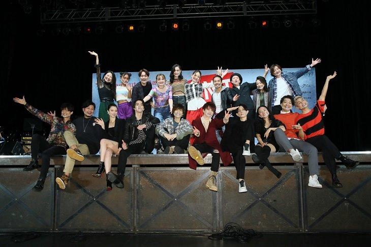花村想太、平間壮一、堂珍嘉邦、甲斐翔真らが圧巻の歌唱披露!ミュージカル『RENT』製作発表