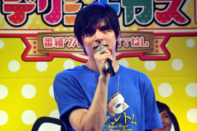 『ファントム』城田優が赤坂サカスに登場! 「You are music」生歌披露