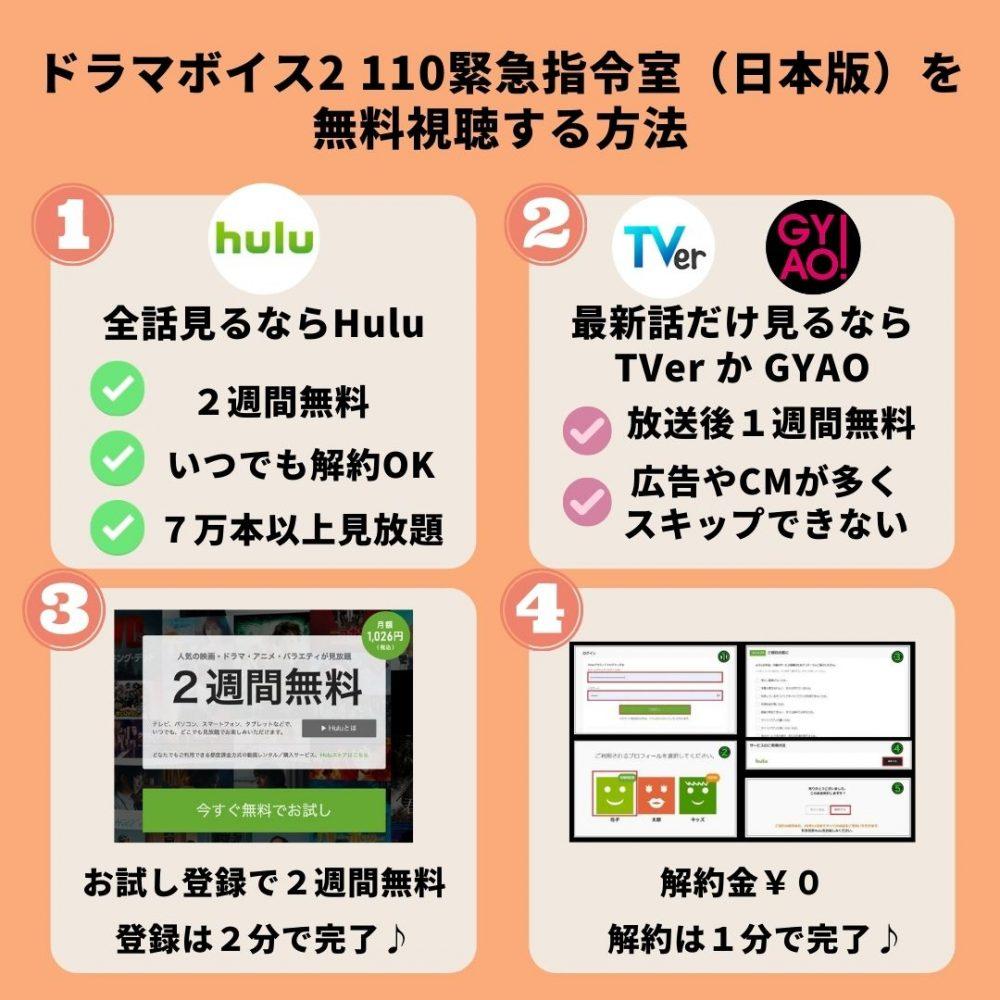 ボイス2(日本版)の動画を無料視聴する