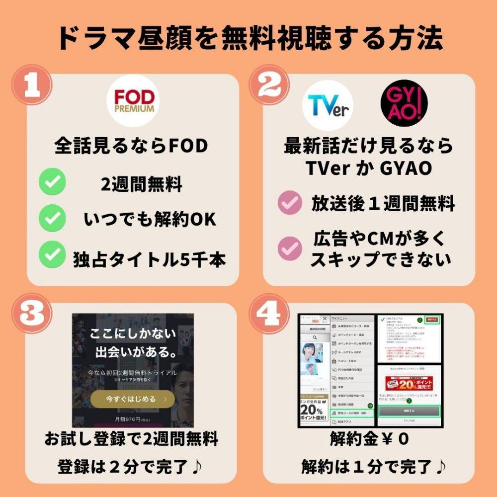 ドラマ昼顔~平日午後3時の恋人たち~の動画を無料視聴