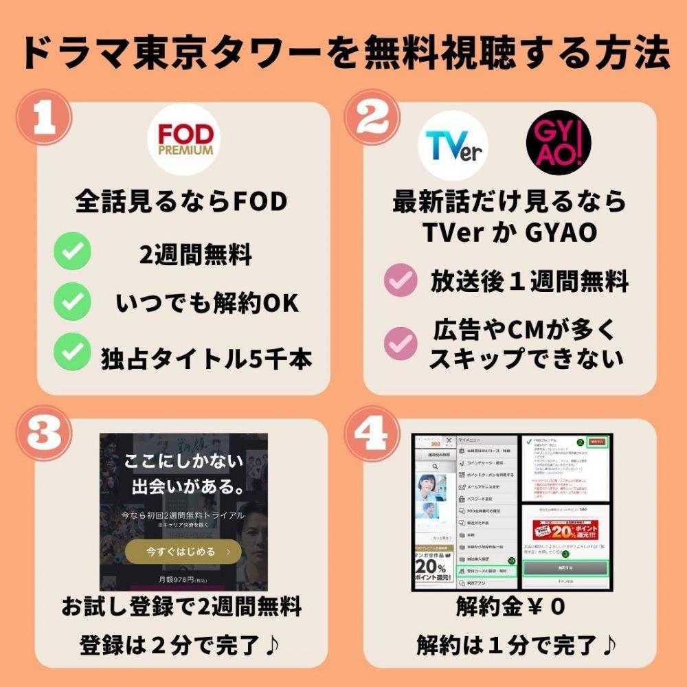 東京タワーの動画を無料視聴