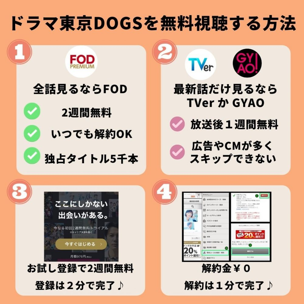 東京DOGSの動画を無料視聴