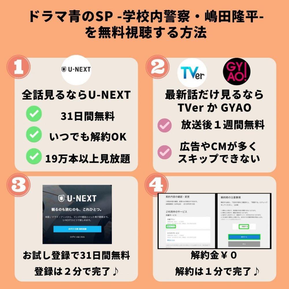 ドラマ青のSP -学校内警察・嶋田隆平-の動画を無料視聴