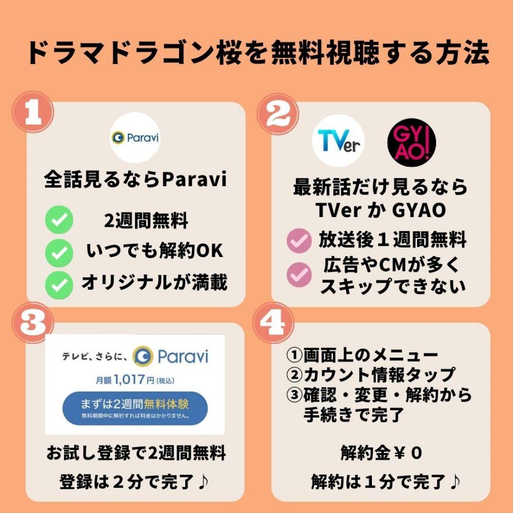 ドラマドラゴン桜を無料視聴
