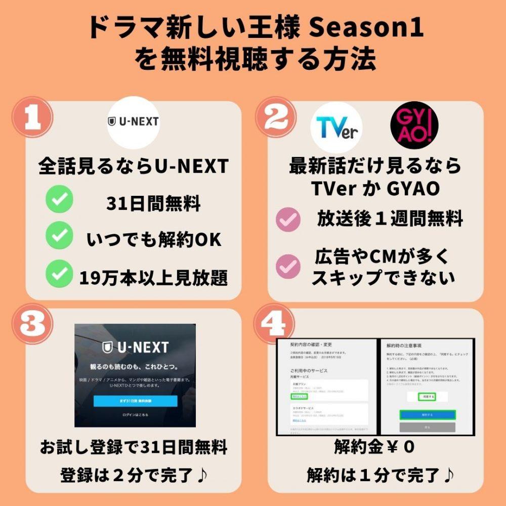 ドラマ新しい王様-Season1-を無料視聴