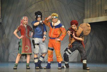 ダンス!アクロバット!驚異のパフォーマンス!五感で感じる舞台『NARUTO-ナルト-』遂に開幕!