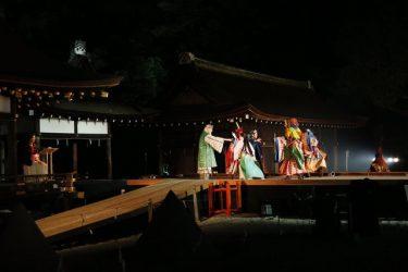 世界文化遺産・上賀茂神社境内にて上演!奉納劇『降臨』公開舞台稽古