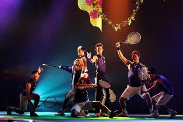 いよいよ全国大会!ミュージカル『テニスの王子様』3rdシーズン 青学(せいがく)vs比嘉ゲネプロ&会見レポート