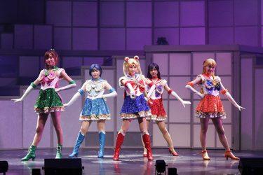 乃木坂46版ミュージカル『美少女戦士セーラームーン』9月公演の舞台写真到着