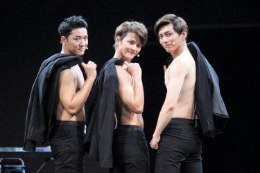 Leadトリプル主演で心、裸一貫!『NEWライブ・レボリューション』開幕