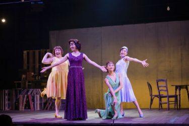 『マンイストマン』開幕!キャバレースタイルに安蘭けい「歌も踊りも仕掛けも期待して」