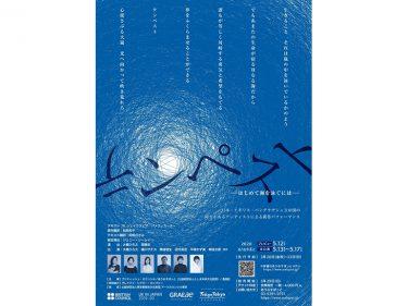 【延期】インクルーシブ・シアタークリエィション・プロジェクト『テンペスト~はじめて海を泳ぐには~』