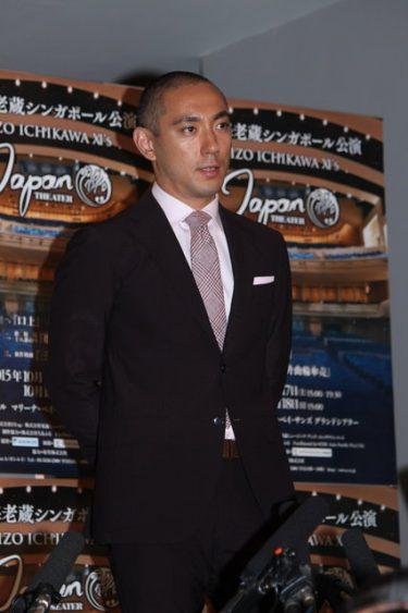 市川海老蔵、2014年に続くシンガポール公演決定!「日本の文化のすさまじさを押し込んでいく」