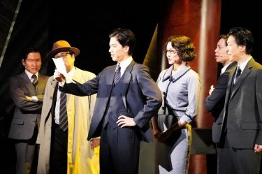 中川晃教と加藤和樹が華麗に対決!新作ミュージカル『怪人と探偵』本日開幕