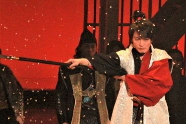 生演奏ミュージカル『信長の野望-炎舞-』開幕!徳山秀典「日本一、いや世界一」