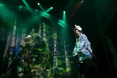 小林亮太「座組み一丸、己を鼓舞して!」舞台「鬼滅の刃」開幕レポート