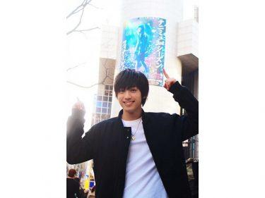 ミュージカル『テニスの王子様』渋谷に巨大広告!阿久津仁愛「ドリライは集大成」