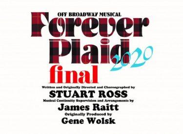 『Forever Plaid/フォーエヴァー プラッド』大阪、富山、仙台、静岡、山口、愛知公演の中止を発表