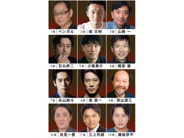 『十二人の怒れる男』堤真一、石丸幹二、溝端淳平らがぶつかり合う緊迫の法廷劇に