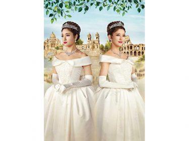 朝夏まなと&土屋太鳳がアン王女の姿に『ローマの休日』ビジュアル公開