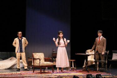 ウエンツ瑛士、帰国後初の舞台出演『わたしの耳』開幕!趣里、岩崎う大との3人芝居をライブ配信でも