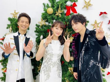 『2020 FNS歌謡祭』第2夜に花總まり、山崎育三郎、田代万里生の出演決定!幻のエリザベートとトートのデュエットが