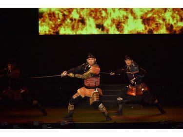 今井翼、真琴つばさらが日本の装束で舞い踊る!『千年のたまゆら ~ソング&ダンス 装束新春コレクション~』開幕