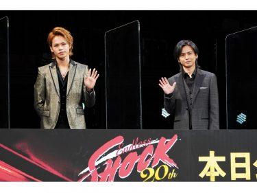 上田竜也、堂本光一は「ジャニーさんの申し子」『Endless SHOCK』2週間限定ロードショー舞台挨拶レポート