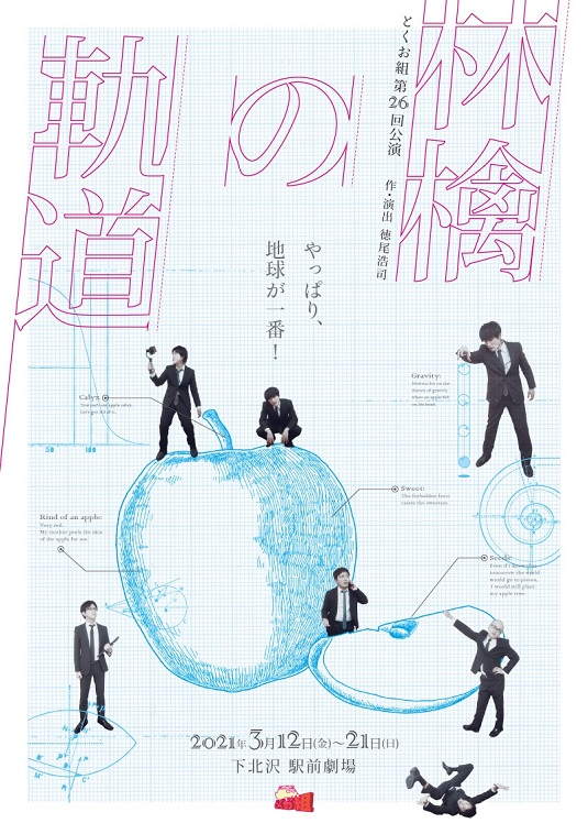 とくお組 第26回公演『林檎の軌道』