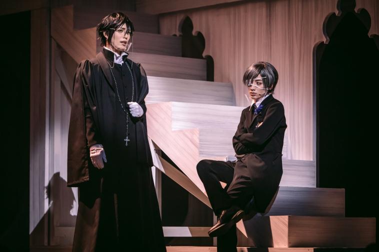 ミュージカル『黒執事』~寄宿学校の秘密~舞台写真/立石俊樹、小西詠斗