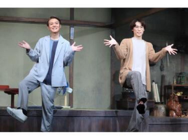 舞台『ッぱち!』開幕に越岡裕貴「お客さまに観てもらえる嬉しさでいっぱい」