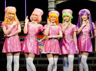舞台『キューティーハニー』上西恵「ハニーちゃんと一緒に成長できた」新衣装のナース服で登場